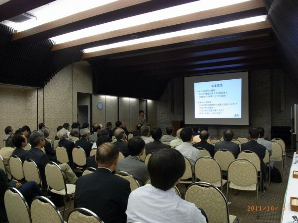 2011 社員総会 社長 石井知 事業説明