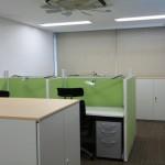 東京本社 2階オフィス増設 特許調査員個人ブース