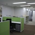 東京本社 2階オフィス増設 特許調査員 個人ブース