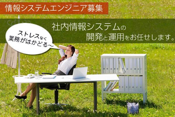 【採用情報】情報システムエンジニア 募集